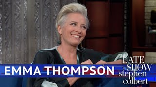 How Emma Thompson Prepared For