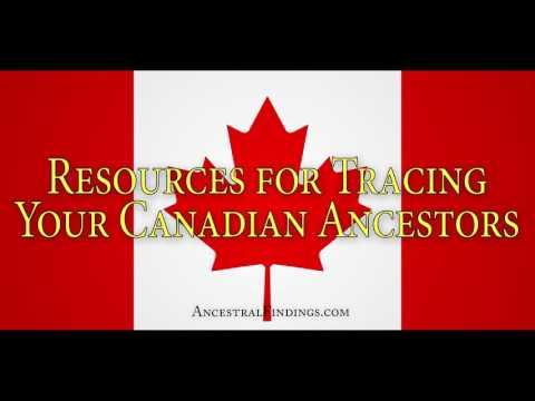 AF-091: Resources for Tracing Your Canadian Ancestors Online