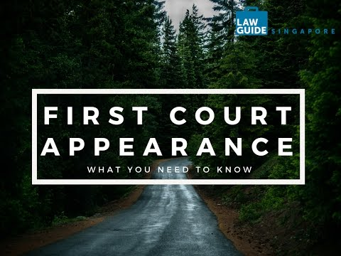The LawGuide Nuggets Show - Criminal Cases: Your First Appearance In Court