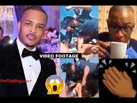 T.I Defends Girl who NJ Cops Beat Up & People are MAD because.. 😱