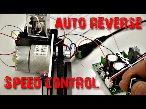 Camera Slider How To Wire Auto Reversing Speed Control