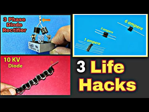 3 Simple Life Hacks with Diodes