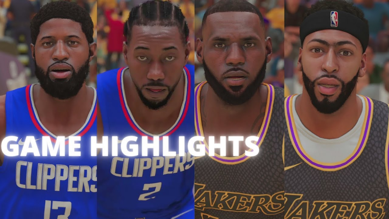 Lakers vs Clippers!! Will Lakers Win The West Again (Next Gen NBA 2K21)