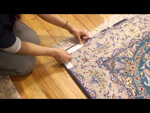 How to Make Rugs Stay Put : Rug Care