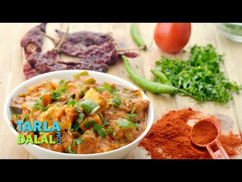 Vegetable Kolhapuri Restaurant Style recipe/ Popular Veg Kolhapuri Recipe by Tarla Dalal