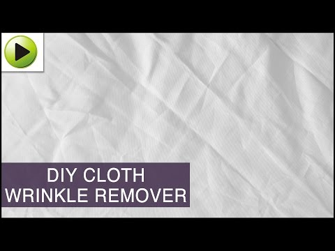 DIY Cloth Wrinkle Remover