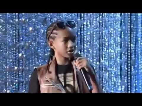 Jaden Smith at Ellen Show (funny)