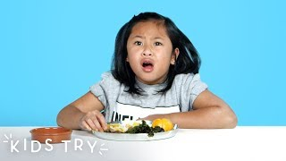 Download Kids Try Prison Food from Around the World | Kids Try | HiHo Kids Video