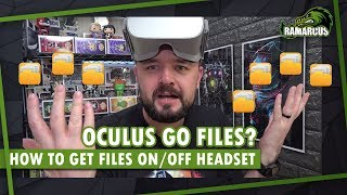 Download How to transfer files to/from Oculus Go Video