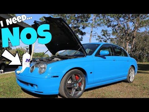 NITROUS will get the Cheap Jaguar to 500HP UNDER $5k! *NOS*