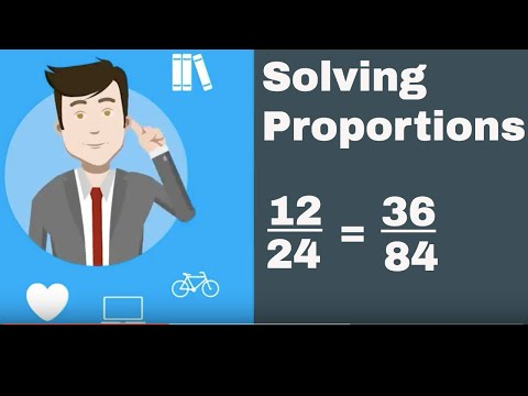 Ratio Math Problems (Solving proportions)