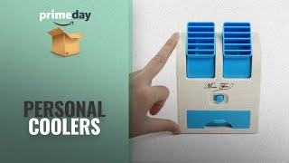 """Personal Coolers Prime Day Deals: Bulfyss 5"""" Usb And Battery Powered Mini Portable Dual Blower Desk"""