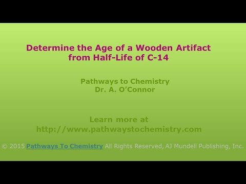 Using Half-Life of C-14 to Determine the Age of a Wooden Relic