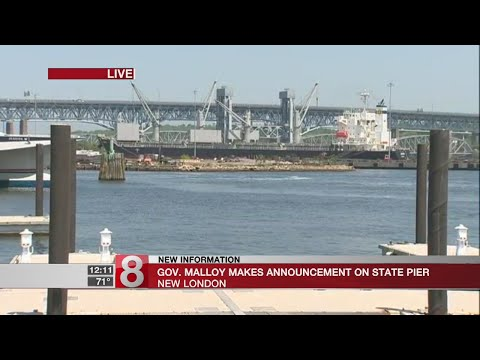 Malloy announces future of New London State Pier