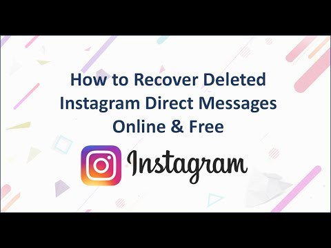 How to Recover Deleted Instagram Direct Messages Online & Free