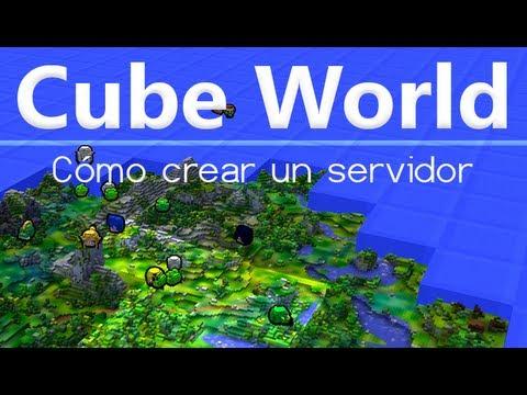 Cube World - Cómo crear un servidor [En español]