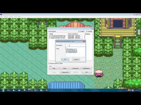 Pokemon Sapphire - How To Catch Kyogre {Cheat}