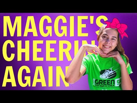 The Ultimate Cheer Test | Maggie's Comeback!