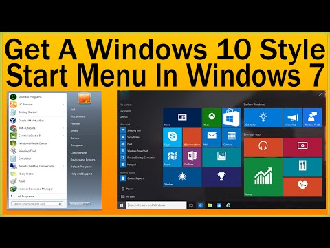 How To Get A Windows 10 Style Start Menu In Windows 7-Windows 10 Transformation Pack