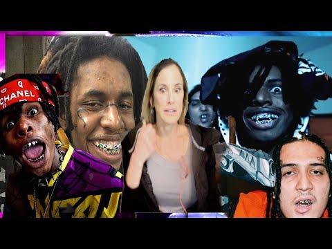 Mom REACTS To Zillakami & SOSMula - 33rd Blakk Glass! (Official Music Video)