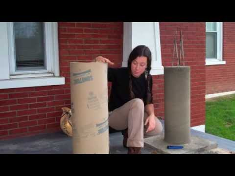 Cardboard Column Forms