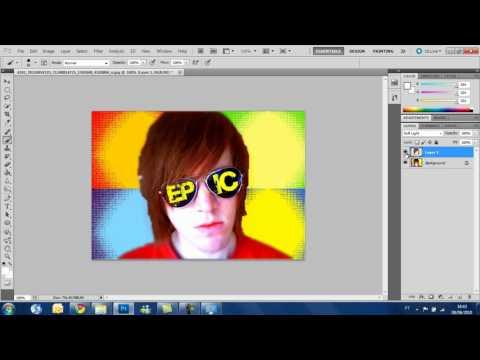 Photoshop CS5 tutorial - How to change hair color Featuring: Shane Dawson (HD)