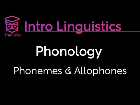 [Introduction to Linguistics] Minimal Pairs, Allophones, Data Sets