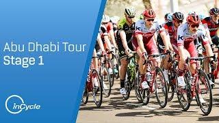 Abu Dhabi Tour 2018: Stage 1 Highlights