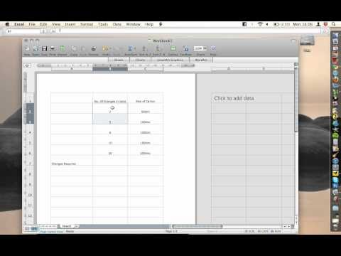 Office For Mac - Excel - Autosum button
