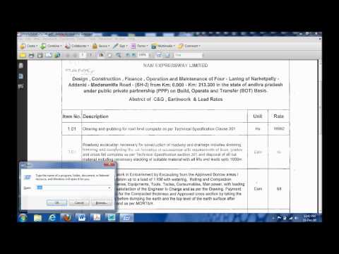 Extract text from scanned doc.