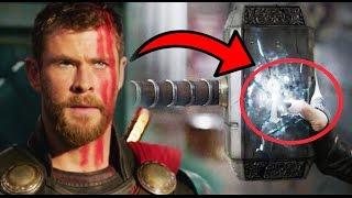 Por esta Razón Fue Destruido el Martillo de Thor, Mjolnir, anteriormente. - Thor Ragnarok