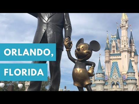 Fun in Orlando, Florida! - Universal Studios, Magic Kingdom, Legoland, Animal Kingdom -Disney World!