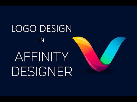 How to Create a Logo in Affinity Designer Software
