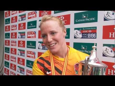 England women win Hong Kong Rugby Sevens 2012