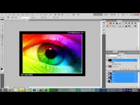 How To Create A Rainbow Eye In Adobe Photoshop CS5 (HD)