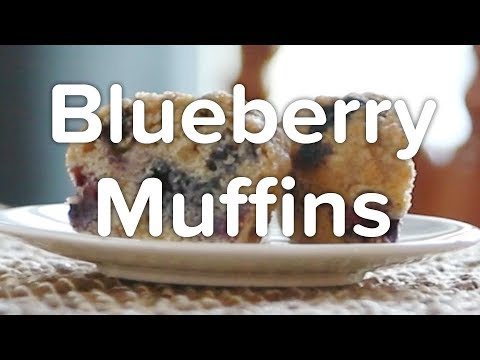 Harvard Chan Cooks: Blueberry Muffins