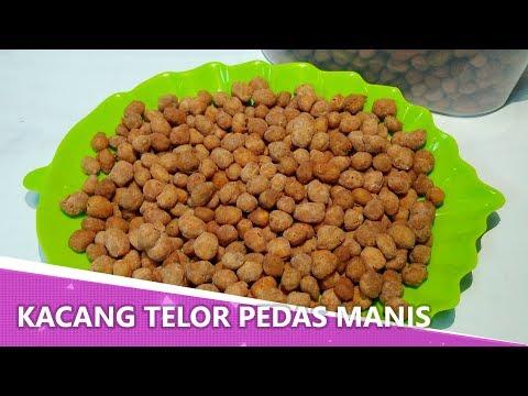 Resep Kacang Telur Pedas Manis