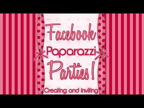 How to Create a Facebook Event - Send MASS Invites - Paparazzi $5 Jewelry Party