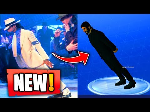 NEW LEANING MAN EMOTE IN FORTNITE (MICHAEL JACKSON)(Ps3/Xbox360/PS4/XboxOne/WiiU)