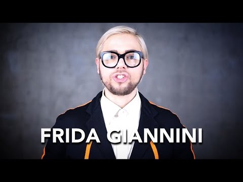 How to pronounce Frida Giannini
