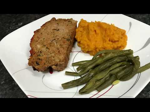 Instant Pot Italian Turkey Meatloaf and Sides!