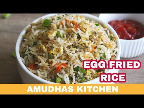 Egg fried rice in Tamil | How to make restaurant perfect Egg fried rice at home