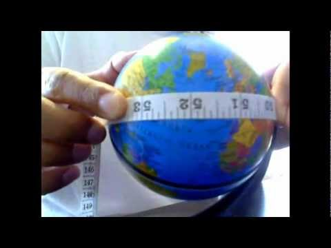 The Qibla Direction in North America is North East - Part 1: Using a globe