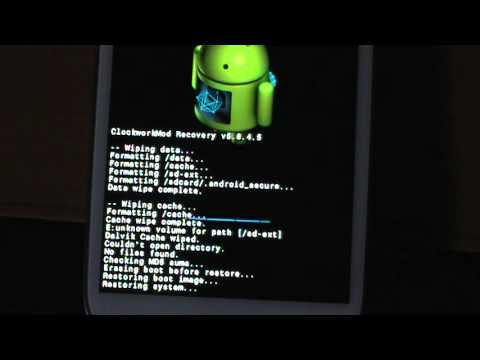 Galaxy S3 How To Restore A Backup Rom