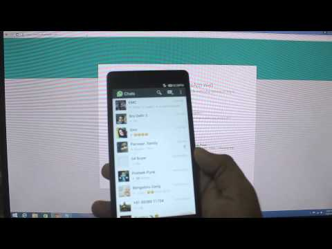 Use whatsApp from laptop or desktop without any software | WhatsApp Web |