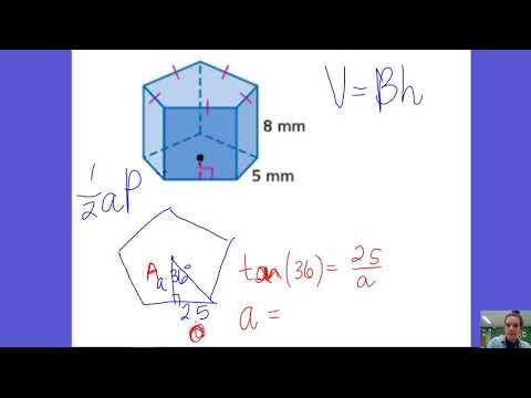 12.4 Volume of Regular Pentagonal Prism