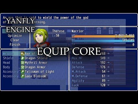 YEP 10 - Equip Core - RPG Maker MV - PlayItHub Largest
