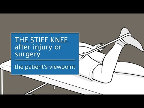 The stiff knee after injury or surgery - the patient's viewpoint