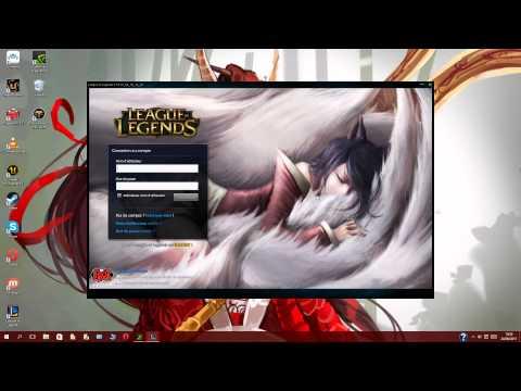 [League Of Legends] Custom login screen ahri sleeping