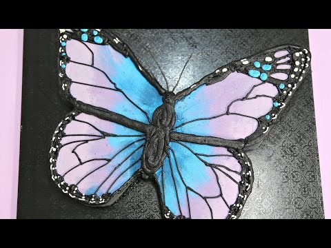 How To Make A BUTTERFLY Cake! - CAKE STYLE